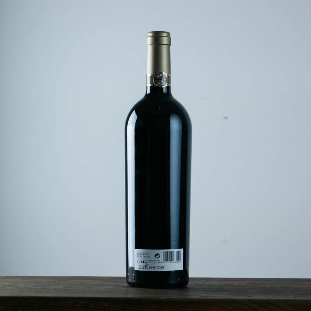 Blecua 2010 Somontano von Viñas del Vero  Etikett