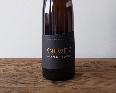 Knewitz Riesling Appenheimer Hundertgulden 2016