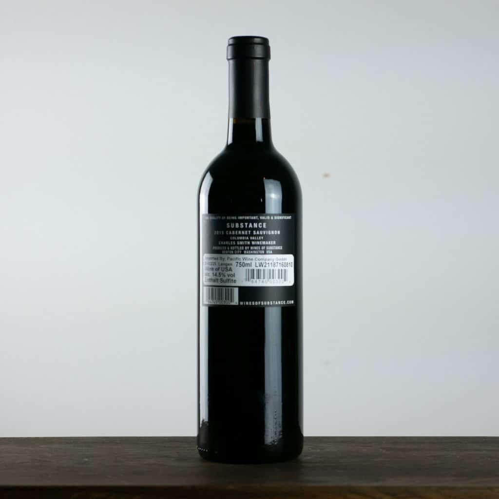 Substance Cabernet Sauvignon 2015