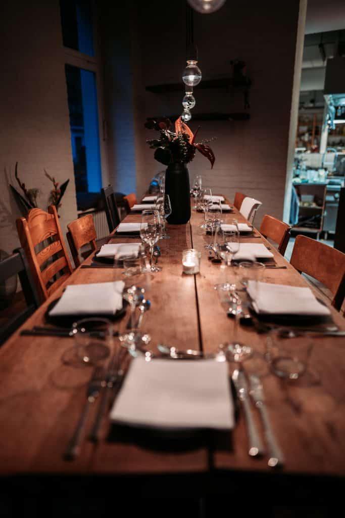 hallmann & klee restaurant lange tafel