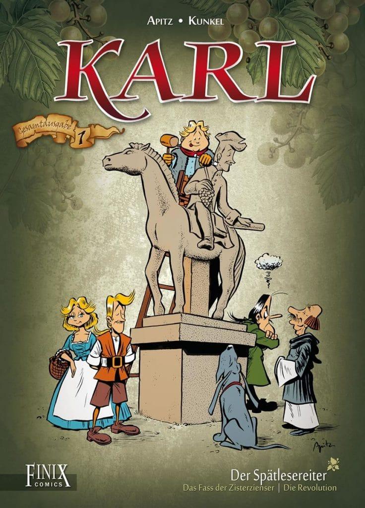 Karl der Spätlese Reiter Comic