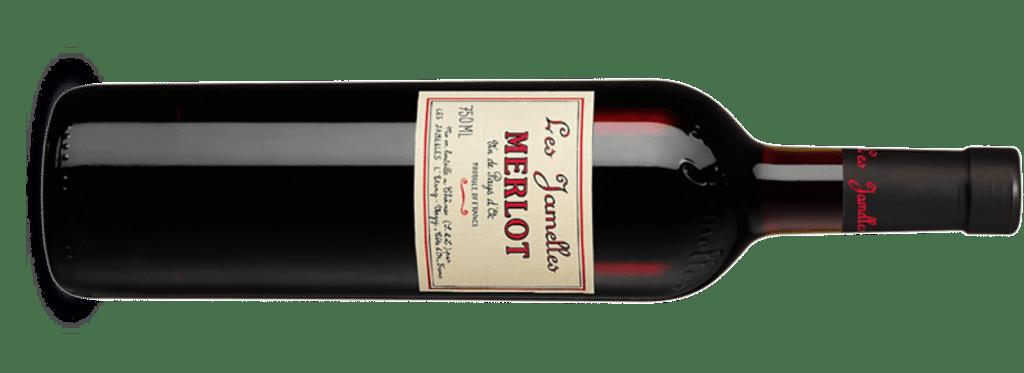 Les Jamelles Merlot Flasche